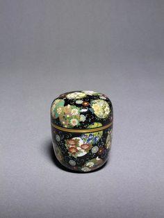 Japanese tea caddy by NAMIKAWA Yasuyuki, 1880~1900, Japan