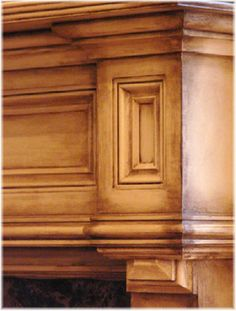 Faux Painting Kitchen Cabinets | Cabinet Glazing, Faux Finishes such as Faux Marble, Limestone ...