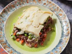 Get Shepherd's Pie with Celery Root Puree Recipe from Food Network Pureed Food Recipes, Cooking Recipes, Healthy Recipes, Entree Recipes, Food Network Recipes, Food Processor Recipes, Celery Root Puree, Healthy Cooking, Healthy Eating