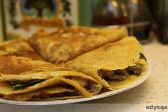 Farsz do naleśników Tacos, Mexican, Ethnic Recipes, Food, Essen, Meals, Yemek, Mexicans, Eten