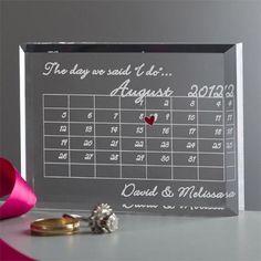 結婚記念日カレンダー | ハワイの引き出物プルメリアカフェ