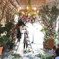 weddingclass  #flowerschool #flowerlesson #lejardinflower #flowerclass #flowerstagram #florist #lejardinflower