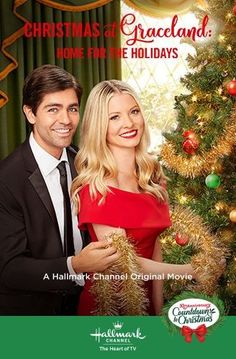 """Learn more about the cast of the Hallmark Channel original movie, """"Christmas at Graceland: Hope for the Holidays starring: Kaitlin Doubleday, Adrian Grenier and Priscilla Presley. Hallmark Channel, Películas Hallmark, Films Hallmark, Graceland, Family Christmas Movies, Hallmark Christmas Movies, Holiday Movies, Family Movies, Xmas Movies"""