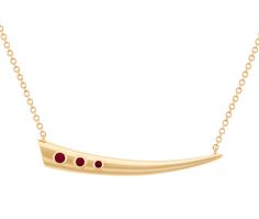 AYA Necklace featuring Gemfields Mozambican Rubies
