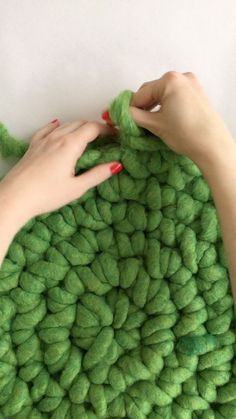 Learn how to DIY Finger Crochet Rug. Discover the best DIY Ideas and How to Videos at Darby Smart.