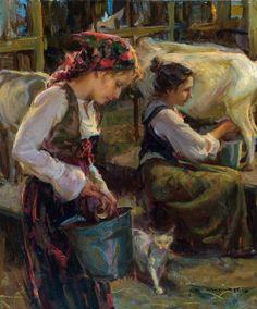 Working Together. By Daniel F. Gerhartz. >> http://www.danielgerhartz.com/Artist.asp?ArtistID=36476&Akey=HTDFQTVK