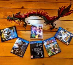 Here are all the games the dragons monsters included. I love such games. Who also finds dragons cool?        #darkcryses  #gaming #videogames #nerdlife #online #geek #gamer  #gaming  #gamergirl #german #ps4 #ps4pro #playstation #nerdlife #dragonquest #monsterhunter #night #zocken #gamerlife #gamer #dragon #anime #dragonfan #dragonball #japan #monsterhunterworld #asian #horizonzerodawn #spyrothedragon #naruto #skyrim
