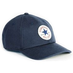 TOPMAN Converse Navy Curved Peak Cap ( 26) ❤ liked on Polyvore featuring  men s fashion 3d5136a4938f