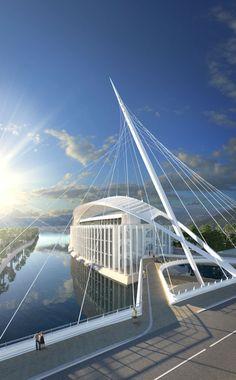 Marina d'Arechi / Salerno (Gallery) - Santiago Calatrava – Architects & Engineers