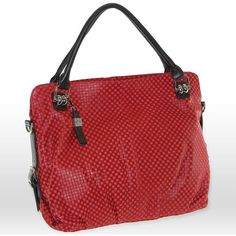 Stylish embossed checkers accentuate this B-Collective by Buxton shoulder bag. The genuine leather construction gives this handbag stylish durability. Fit all …