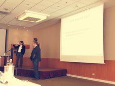 Zeit für konkrete Fragen aus dem Publikum gab es nach jedem Vortrag. #SMDAC13 #Aachen