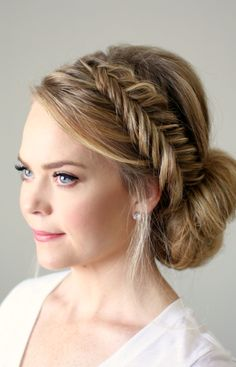 Fishtail Braid Hairstyle Inspiration for 2016 | Haircuts, Hairstyles 2016 / 2017 and Hair colors for short long & medium hair
