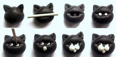 Amatorskiej Sztuki Szkatuła: Jak zrobić , narysować kota - zabawkę, ozdobę, obrazek - inspiracje z sieci / How to make, draw a cat