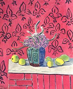 Still Life with Lemons - Henri Matisse, 1943.