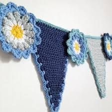 Image result for applique crochet flowers on cushion covers