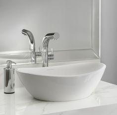 Elliptic Basin Ceramic Wash Basin Home Improvement Art Basin Feng Yu