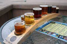 Fort Collins Brewery Flight