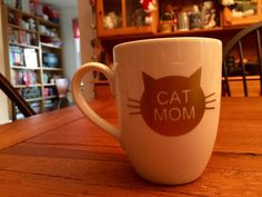 This mug is the perfect gift for the cat lover in your life. If you would like a different color, or a customization on the other side (maybe some