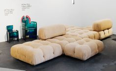 Design Miami 2013: 'Camaleonda', by Mario Bellini, 1970, at the Erastudio Apartment Gallery stand.