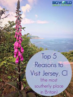 The Best Reasons to get you to the Island of Jersey (the most southerly place in Britain)