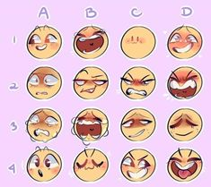 New memes faces facial expressions art 30 ideas Drawing Reference Poses, Drawing Tips, Drawing Tutorials, Art Tutorials, Face Reference, Photo Reference, Drawing Challenge, Art Challenge, Expression Challenge