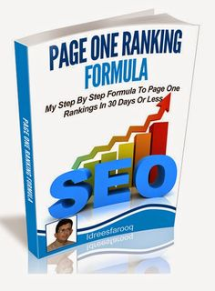 Page One Ranking Formula - Ebook - Private Label Rights Internet Marketing, Marketing Software, Business Website, 30 Day, Free Ebooks, Case Study, Product Launch, Ebay, Google