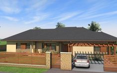 Beautiful House Plans, Beautiful Homes, House Plans South Africa, Gazebo, Exterior, House Design, Outdoor Structures, Architecture, Outdoor Decor