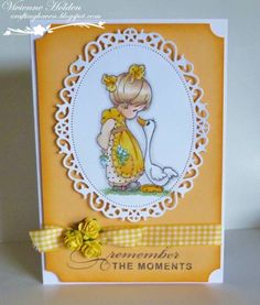 Precious Moment by Harvey's mum - Cards and Paper Crafts at Splitcoaststampers