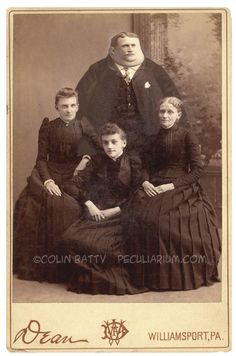 History Discover Cabinet Card - 3 girls and a Giant Guy Peculiarium Antique Photos Vintage Pictures Vintage Photographs Old Pictures Creepy Old Photos Creepy Pictures Creepy Vintage Funny Vintage Human Oddities Creepy Old Photos, Creepy Pictures, Vintage Pictures, Old Pictures, Human Oddities, Creepy Vintage, Vintage Humor, Funny Vintage, Dark Photography