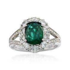 emerald engagement ring. <3