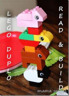 LEGO DUPLO Read & Build house party activities! #LegoDuploParty