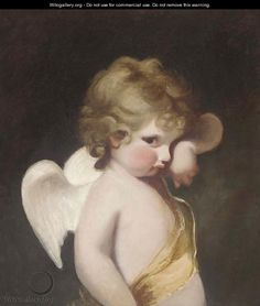 Cupid - (after) Sir Joshua Reynolds