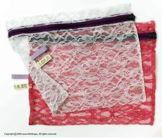 Very pretty Lola Haze Launderie Bags. Ideal gift for your bridesmaids, friends, sisters, wives, etc.