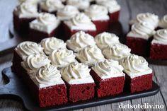 Red Velvet Cake i langpanne