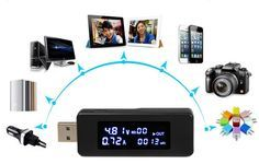 Ganha um medidor USB de tensão e corrente | Aberto até de Madrugada