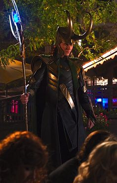 """All of my friends are like, """"Did you see the scene in Thor where Thor was shirtless?"""" and I'm like, """"Yeah, but did you see the scene in The Avengers when Loki ordered everybody to kneel?"""" Hmm..."""