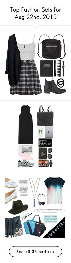 """Top Fashion Sets for Aug 22nd, 2015"" by polyvore ❤ liked on Polyvore featuring mode, Topshop, Proenza Schouler, MTWTFSS Weekday, SPURR, Monki, GHD, Antonym, J.Crew en John Lewis"