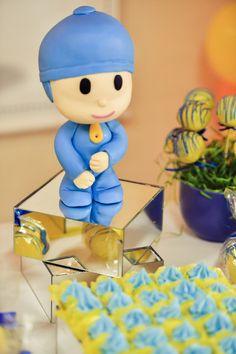 Decoração de festa de aniversário Pocoyo à venda - Biscuit