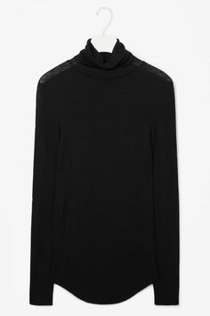Cos Roll Neck Wool Top, £45