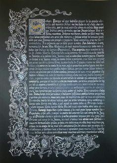 Carta de Cristobal Colón a Luis de Santangel ( hoja 1)