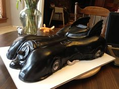 Batmobile cake for my mans birthday!!! From goodness cakes from Amelia