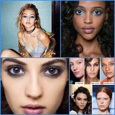 Ro&Ro Beauty Blog: Make Up Trend: Blue Eyes