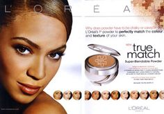 L'Oreal True Match products come in a wide variety of shades and also matches undertones for a more natural look.