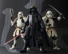 Star Wars Samurai Figures - by Bandai