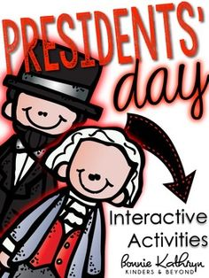Presidents' Day ~ This Presidents' Day unit covers many standards and will keep your kids engaged while learning about the lives of George Washington and Abraham Lincoln. Students will complete a lap-book that will assess what they have learned and foster creativity.