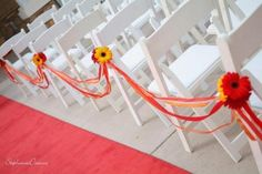 Wedding, Flowers, Red, Ceremony, Yellow - Photo by Huy's Photography - Project Wedding