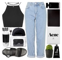 """""""Charlie"""" by melislookbook ❤ liked on Polyvore featuring Boutique, Topshop, ASOS, Linea, Narciso Rodriguez, Karl Lagerfeld, TokyoMilk, 3.1 Phillip Lim, ROOM COPENHAGEN and Clips"""