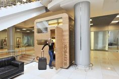 Sleepbox in the Moscow airport Sheremetyevo. Soon