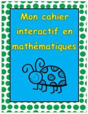 Cahier interactif en MATH!!!