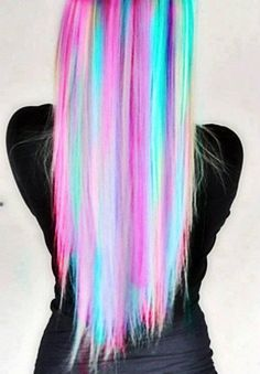 Love the color choices and how it looks in straight hair too↠{GalaxyPrincesss}↞